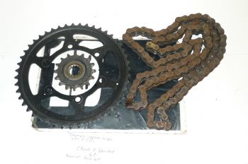TRIUMPH STREET TRIPLE R 675  CHAIN AND SPROCKETS  (CON-B)